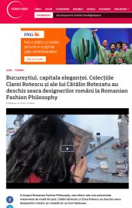 Screenshot-2017-10-29 Bucureştiul, capitala eleganţei Colecţiile Clarei Rotescu şi ale lui Cătălin Botezatu au deschis sear[...]